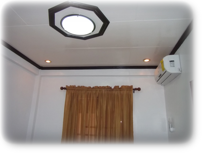 Air-con, Center light and Variable light