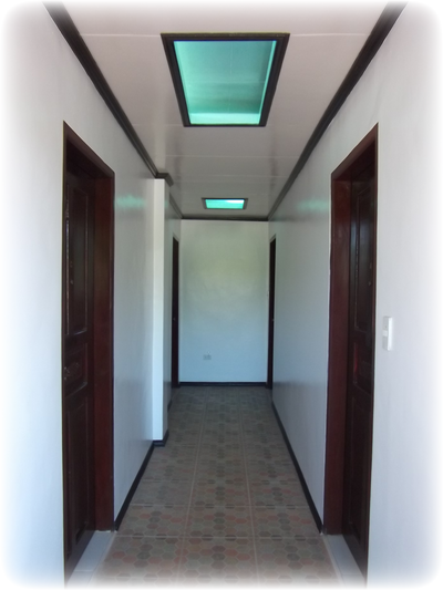 Hallway to the rooms