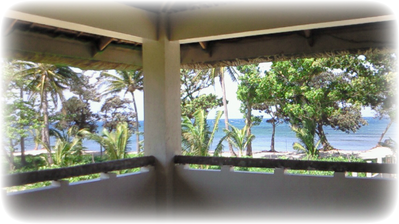Ocean view from 2F Multipurpose Hall